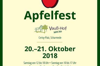 Apfelfest 2018 auf dem Vauß-Hof